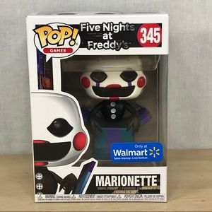 Funko Pop Five Nights At Freddys 345 Marionette